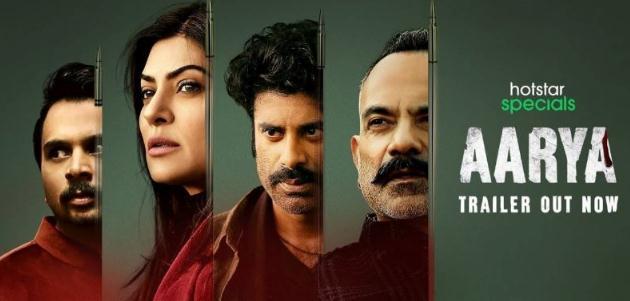Aarya 2020 Hindi Season 01 Complete 720p HDRip x264 ESubs 2.6GB  DLW