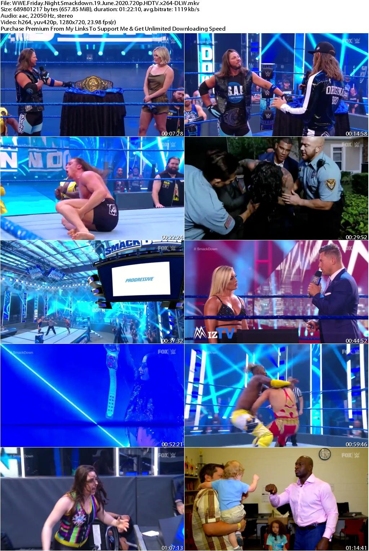 WWE Friday Night Smackdown 19 June 2020 720p HDTV x264-DLW
