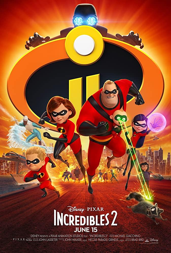 Incredibles 2 (2018) [720p] [BluRay] [YTS MX]