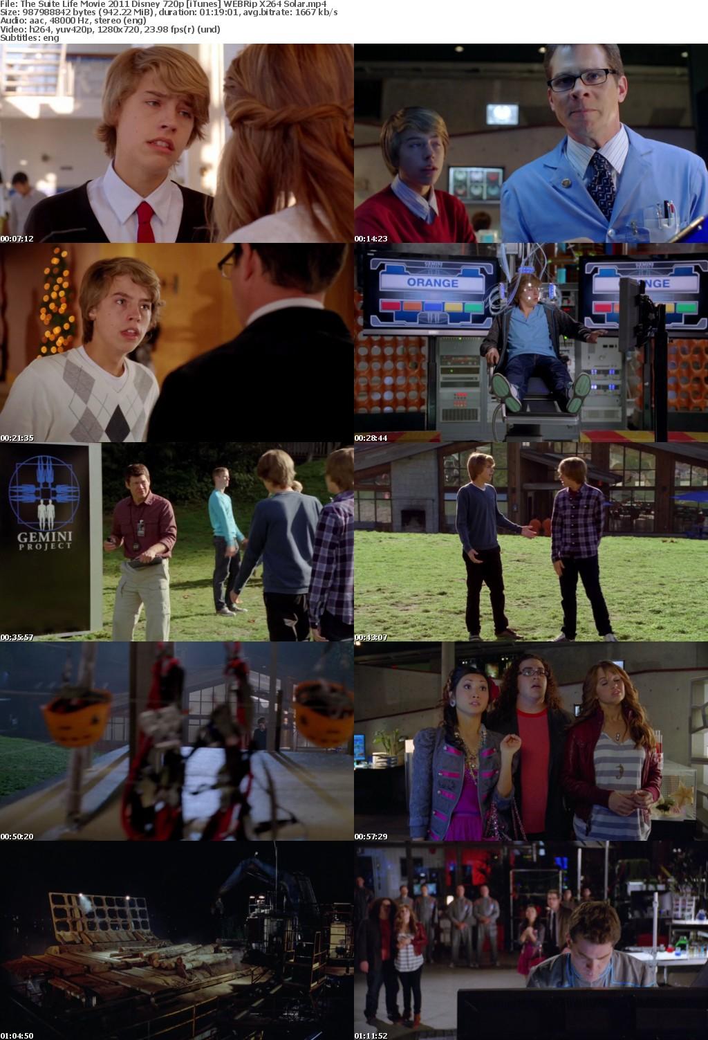 The Suite Life Movie (2011) Disney 720p iTunes WEBRip X264 Solar
