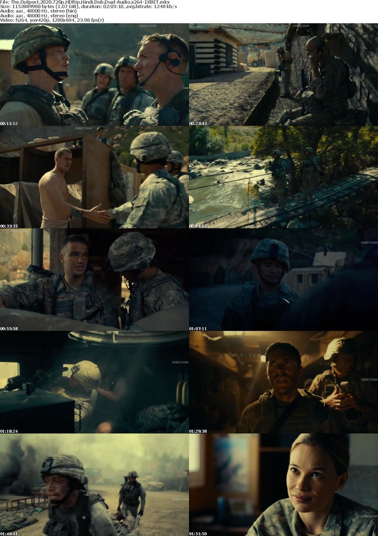 The Outpost (2020) 720p HDRip Hindi-Dub Dual-Audio x264 - 1XBET
