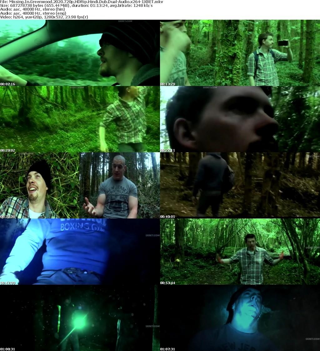 Missing in Greenwood (2020) 720p HDRip Hindi-Dub Dual-Audio x264 - 1XBET