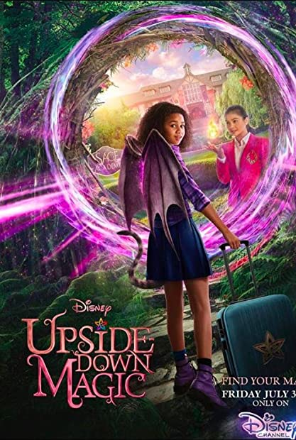 Upside Down Magic 2020 Disney 720p HDTV X264 Solar