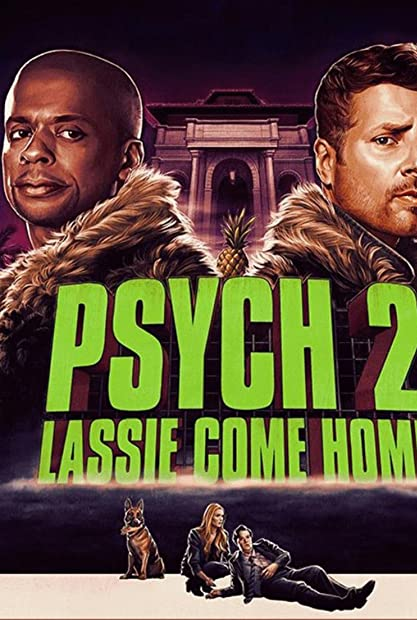 Psych 2: Lassie Come Home (2019) 720p HDRip Hindi-Dub Dual-Audio x264
