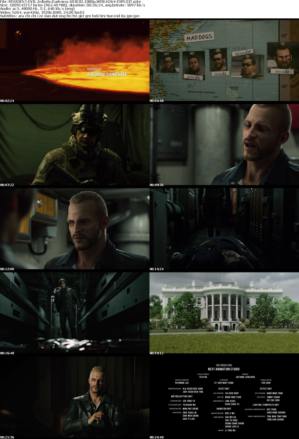 RESIDENT EVIL Infinite Darkness S01 COMPLETE 1080p NF WEB H264-EXPLOIT