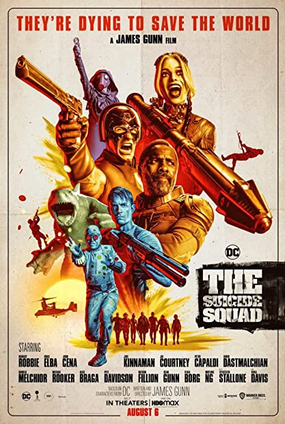 The Suicide Squad 2021 720p HMAX WEBRip Hindi English AAC ESubs x264 - LOKiHD - Telly mkv