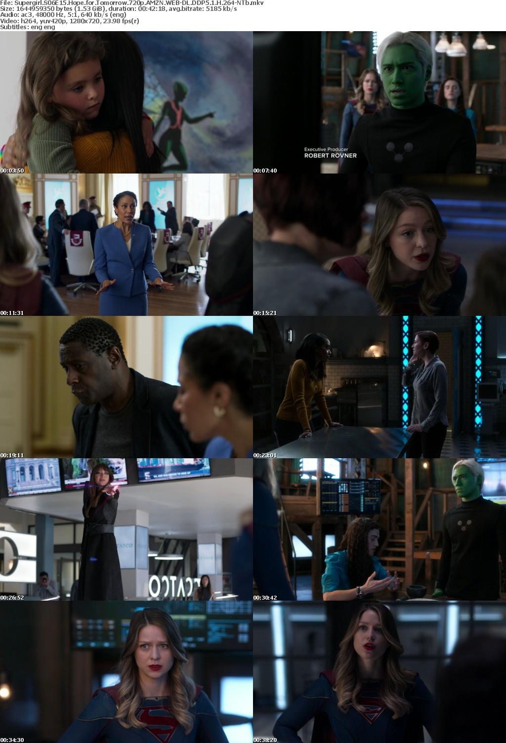 Supergirl S06E15 Hope for Tomorrow 720p AMZN WEBRip DDP5 1 x264-NTb