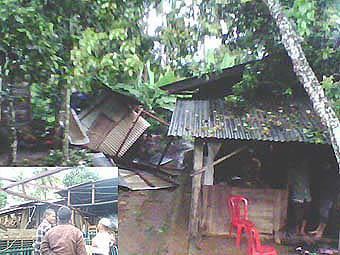 86603156a05242808a95dc216f13f50add3926c Puting Beliung Sapu 7 Rumah Di Dusun Siregar Matogu dan Dusun Tor Godang
